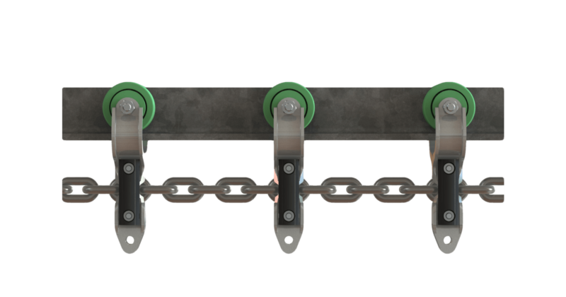 Link chain compatible with Meyn